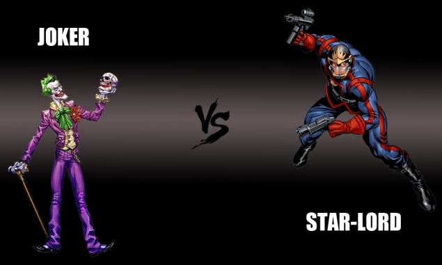Joker vs. Star-Lord