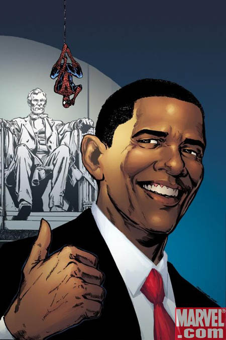 Spiderman-Obama