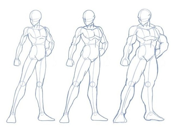 How To Draw Comic Book Characters Step By Step