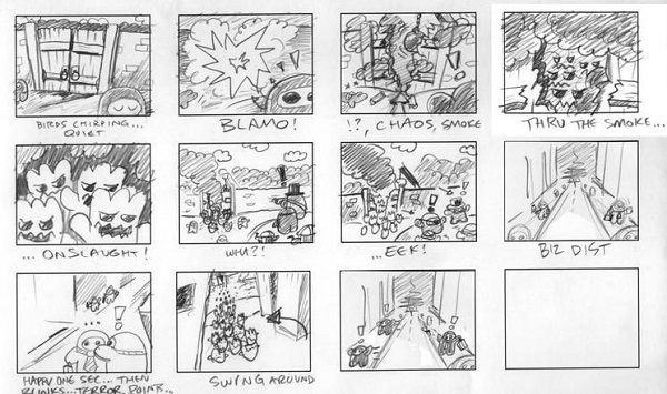 Why You Should Create A Comic Book Storyboard  Blog  Biowars